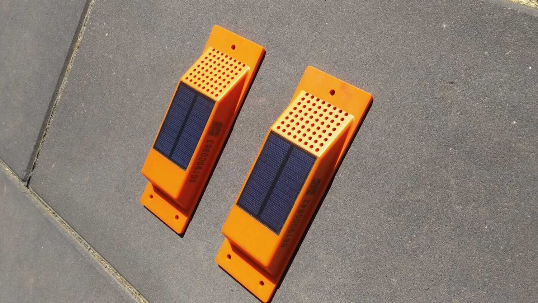 Container tracking op basis van zonne-energie