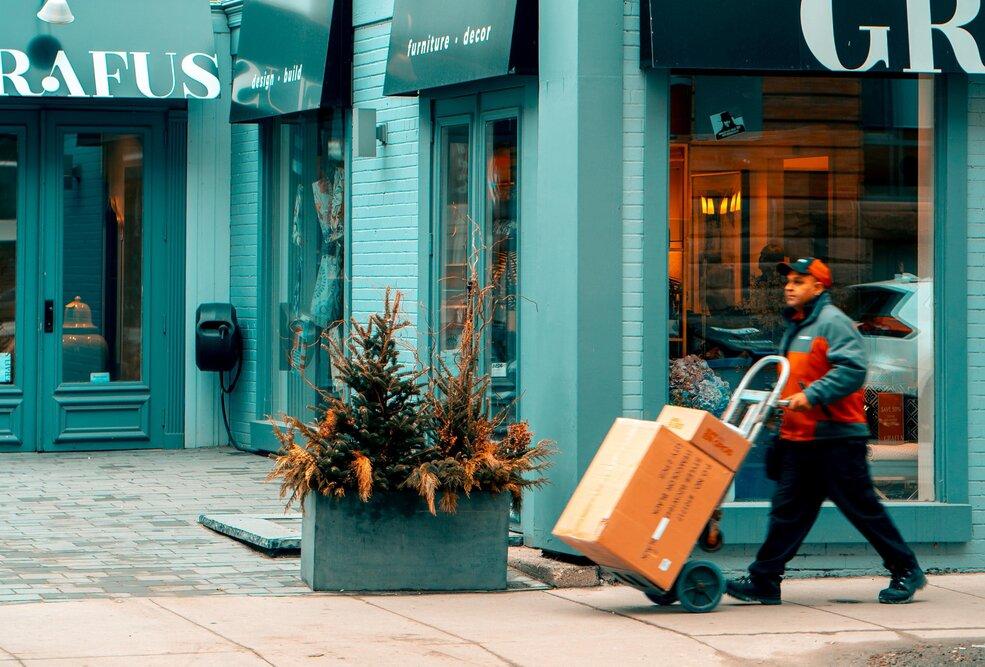 Gesloten winkels bezorgen met last mile start-ups